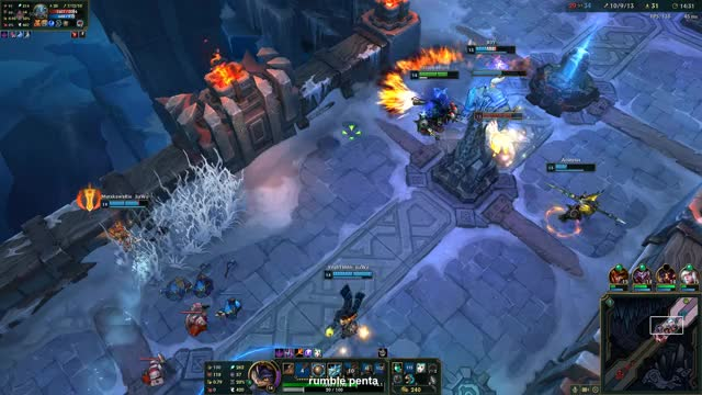 Watch and share Rumble Penta GIFs by bazookablees on Gfycat