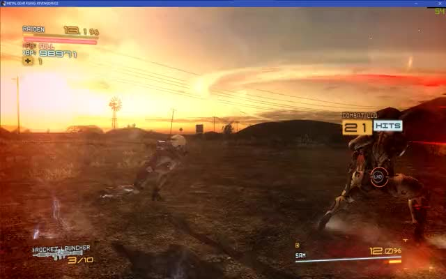 Watch and share Metal Gear Rising Revengeance 2018.12.31 - 01.10.52.84.DVR GIFs on Gfycat
