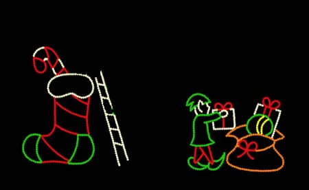 Watch and share CANDY CANE FERRIS WHEEL-LED GIFs on Gfycat