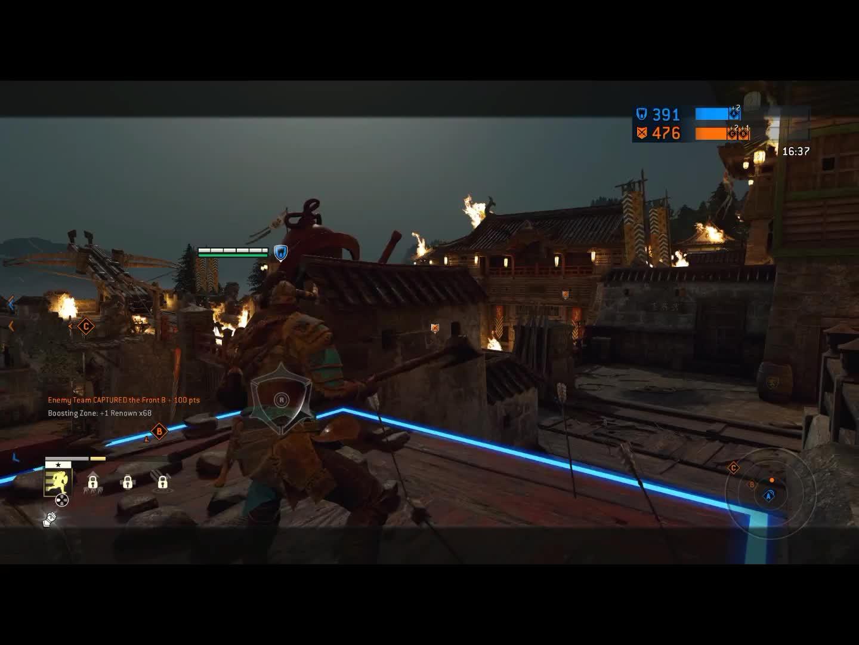 ForHonor -  raider advanced emote tech GIFs