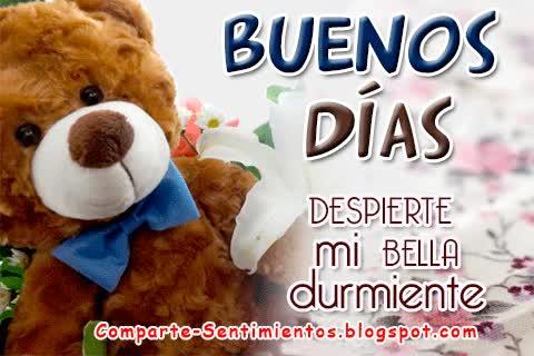 "Watch and share ""Buenos Días, Despierte Mi Bella Durmiente"" GIFs on Gfycat"