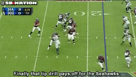 Watch and share Tipdrill GameDay Central: Seattle At Houston GIFs on Gfycat