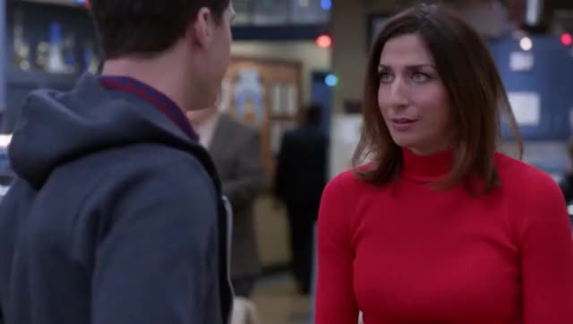 Watch and share Brooklyn Nine Nine GIFs and Chelsea Peretti GIFs by unfadingbigfoot on Gfycat