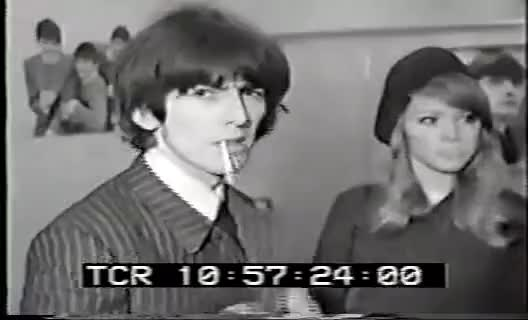 Watch and share George Harrison GIFs and Pattie Boyd GIFs on Gfycat