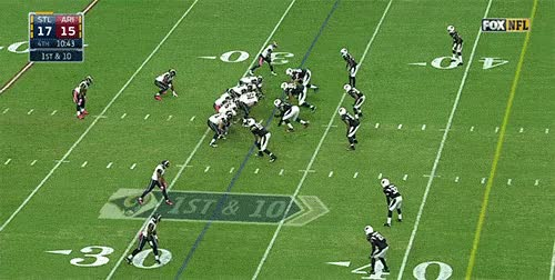 Watch todd gurley run against cardinals GIF on Gfycat. Discover more related GIFs on Gfycat