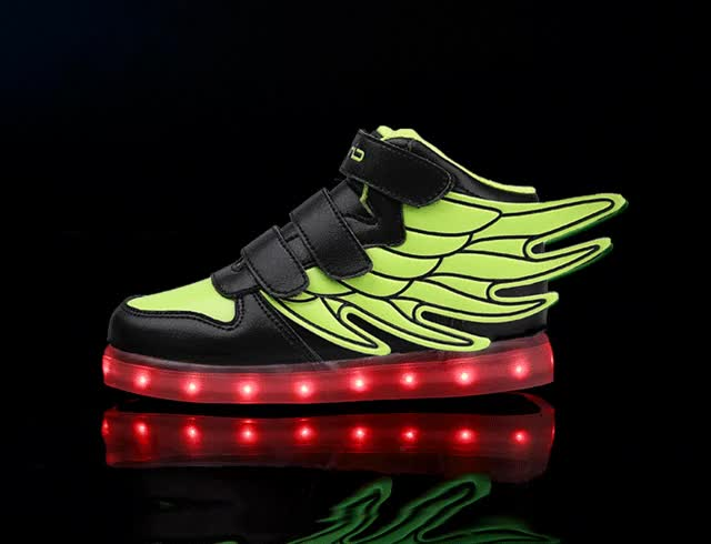 Watch and share Led Shoes Led Light Shoes China Factory Price Led Light Up Shoes Br GIFs on Gfycat