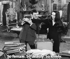 Watch and share Gomez And Morticia GIFs and The Addams Family GIFs on Gfycat