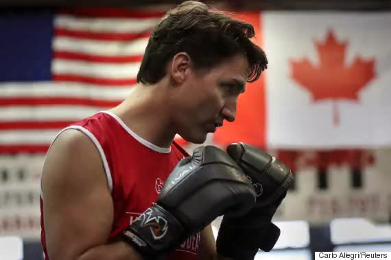 Watch and share O-JUSTIN-TRUDEAU-BOXING-570 GIFs on Gfycat