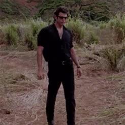 Watch and share Jurassic Park 1993 GIFs and Jeff Goldblum GIFs on Gfycat