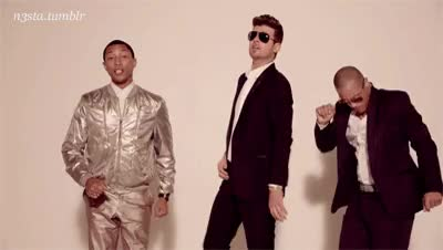 Watch and share Pharrell Williams GIFs and Robin Thicke GIFs on Gfycat