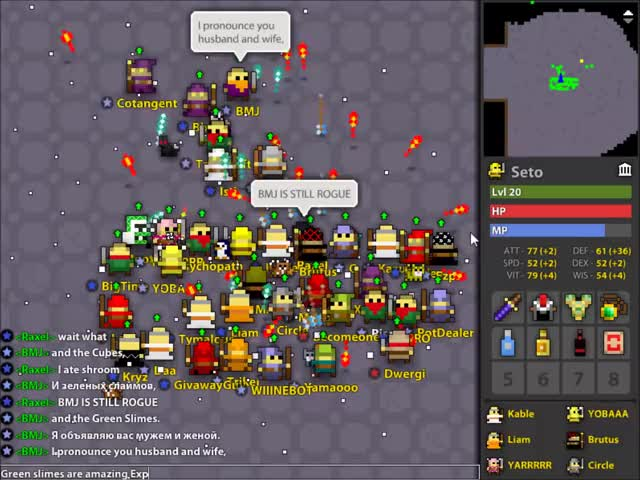 Watch The Wedding of Isti and Lsevv GIF by @diotic on Gfycat. Discover more RotMG GIFs on Gfycat