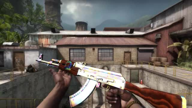 Watch and share AK-47 | Case Hardened Blue Mag GIFs by regan.elite on Gfycat