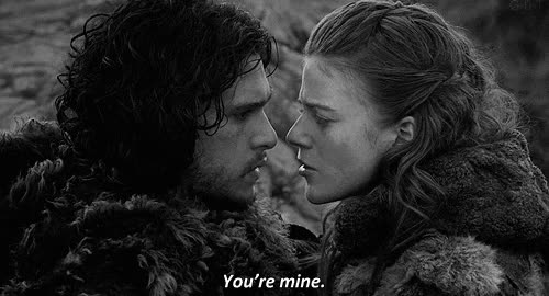 Watch and share Jon Snow Ygritte GIFs on Gfycat