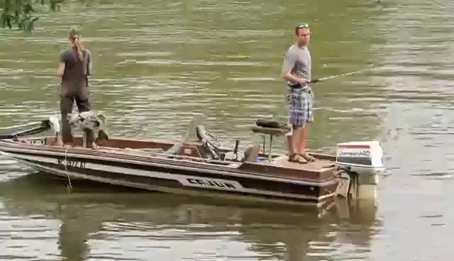 Watch She thinks were just fishin :) GIF on Gfycat. Discover more Adkins, Trace, engagement, fishing, proposal GIFs on Gfycat