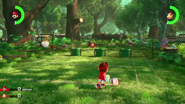 Watch and share Mario Tennis Aces GIFs and Super Mario GIFs by gfymon on Gfycat