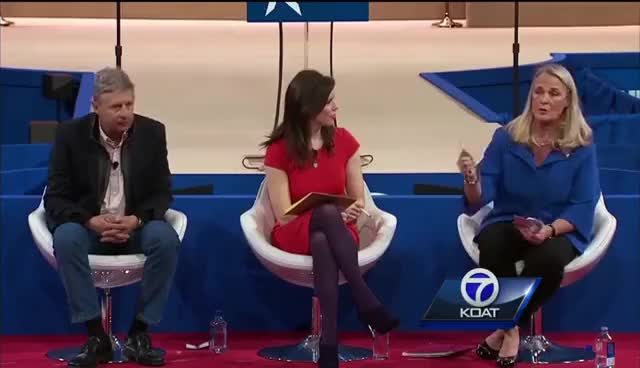 Watch Former NM governor fakes heart attack at pot debate GIF on Gfycat. Discover more related GIFs on Gfycat
