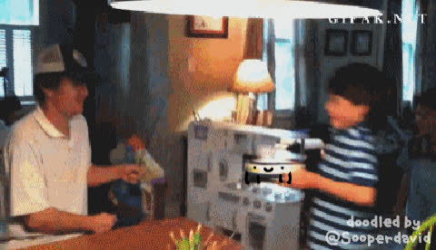 doodles, real life doodles, reallifedoodles, lucky guy GIFs
