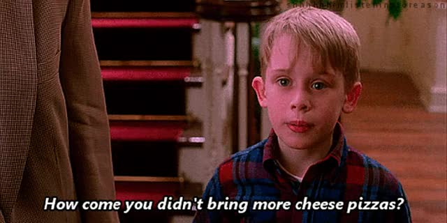 Watch and share Macaulay Culkin GIFs and Pizza GIFs on Gfycat