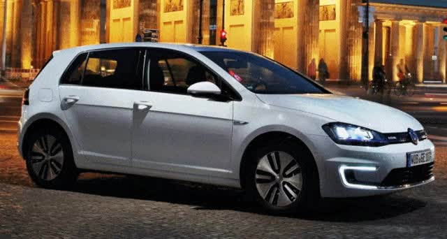 Watch and share $35k 2015 Volkswagen E-Golf Now Available From Select VW Dealers; 86-mile Range From Li-ion Batteries GIFs on Gfycat