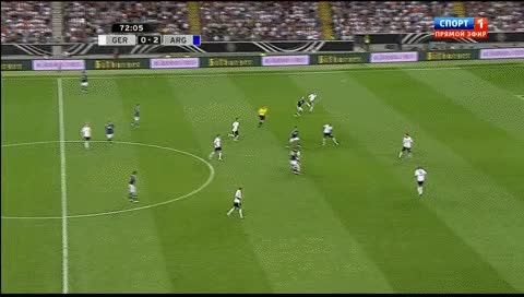 Watch and share Angel Di Maria. Germany - Argentina. 2012 GIFs by fatalali on Gfycat