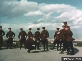 Watch and share Russian Red Army Dance Ensemble GIFs on Gfycat