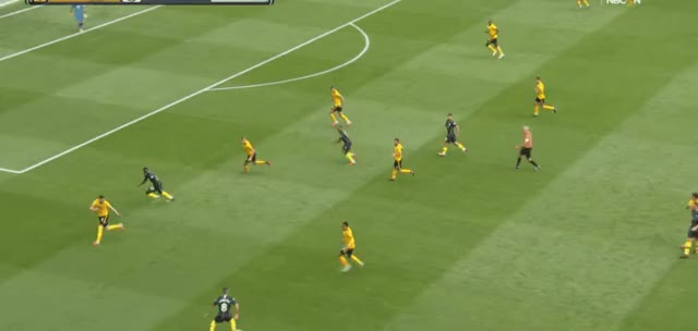 Watch and share Gundogan Long Pass Vs Wolves 18-19 GIFs by FIFPRO Stats on Gfycat