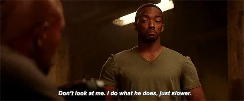 Watch this anthony mackie GIF on Gfycat. Discover more anthony mackie, captain america winter soldier GIFs on Gfycat