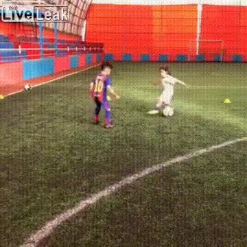 Watch and share Amazing Girl Footballer GIFs on Gfycat