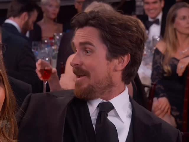 applause, christian bale, clap, clapping,  GIFs