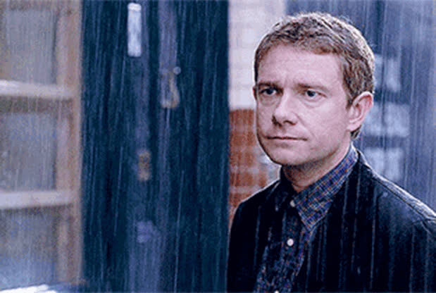 martin freeman, Security are fully aware of Ġowsef's and David's bromance, so you're let through, no questions asked. GIFs