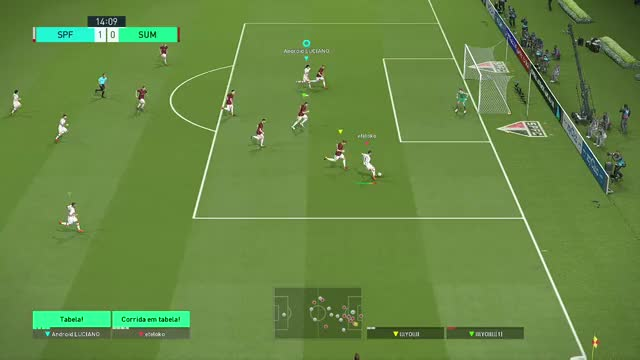 Watch this GIF by Xbox DVR (@xboxdvr) on Gfycat. Discover more Android LUCIANO, PROEVOLUTIONSOCCER2018, fifa, xbox, xbox dvr, xbox one GIFs on Gfycat