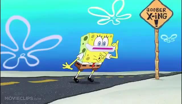 Watch and share I'm A Goofy Goober - The SpongeBob SquarePants Movie (10/10) Movie CLIP (2004) HD GIFs on Gfycat