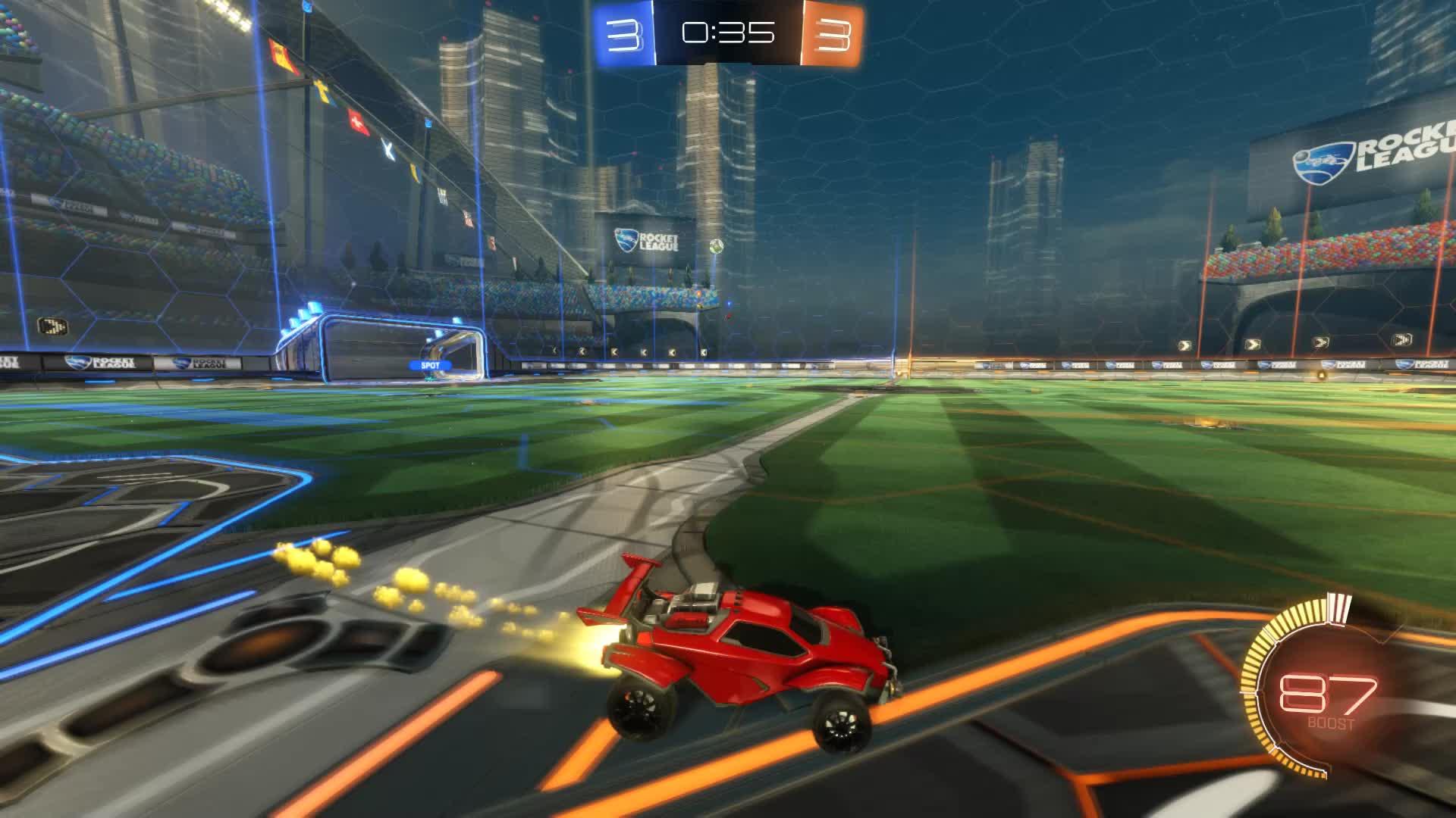 Gif Your Game, GifYourGame, Goal, Rocket League, RocketLeague, Squash, Goal 7: Squash GIFs