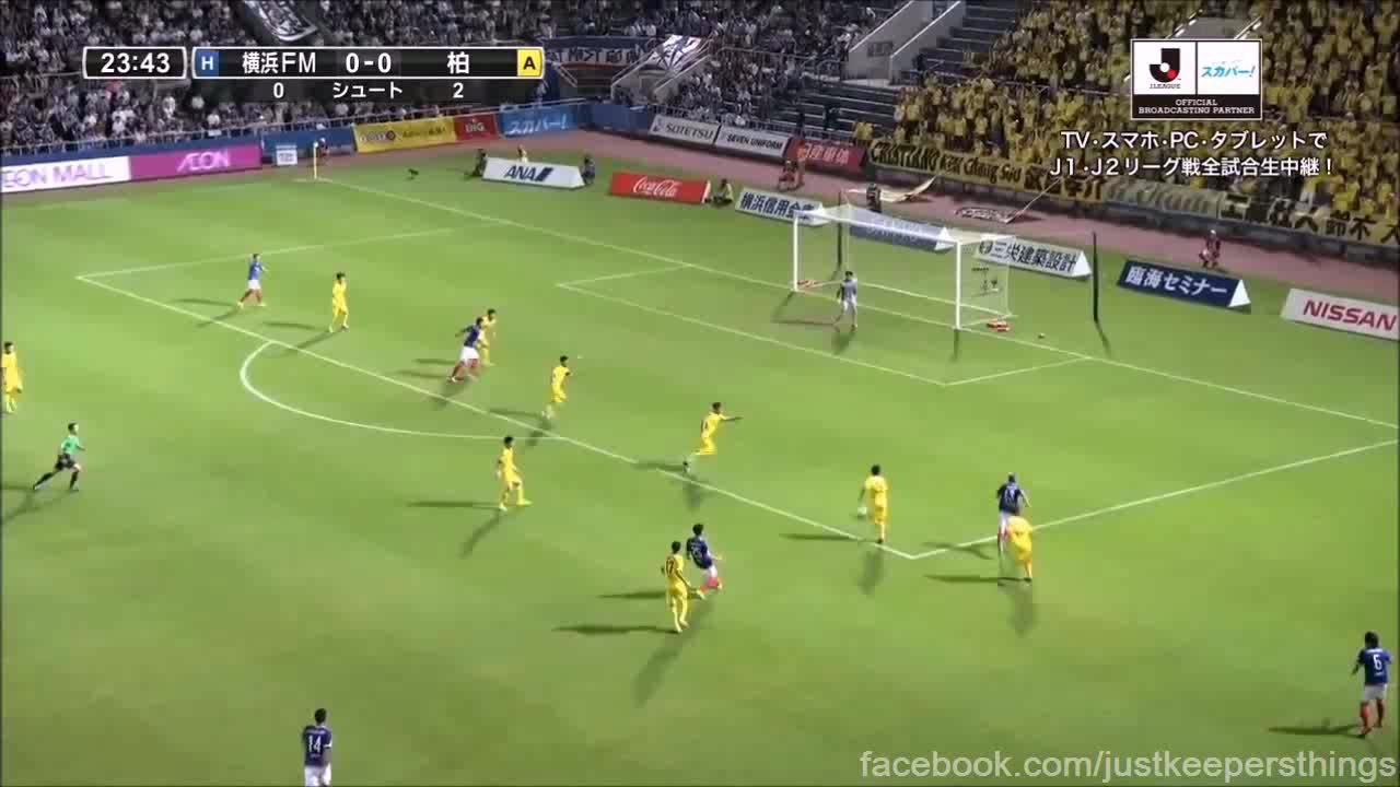 soccergifs, Two good saves from 19 week Japanese J League. (reddit) GIFs