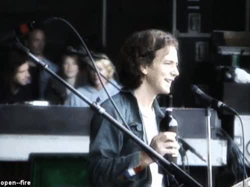 Watch eddie vedder GIF on Gfycat. Discover more related GIFs on Gfycat