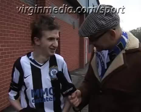 Watch and share Mr Sheepskin At Rochdale AFC GIFs on Gfycat