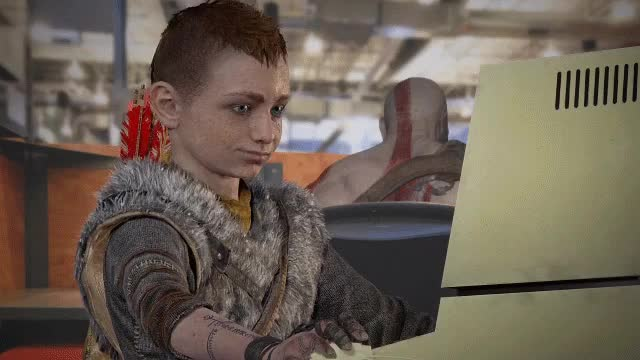 Watch and share Brentrambo GIFs and God Of War GIFs by 121gigawatt on Gfycat