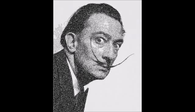 Generative Drawing Dali GIFs