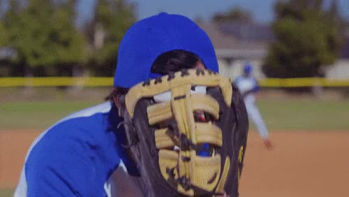 Watch and share Baseball Glove GIFs on Gfycat