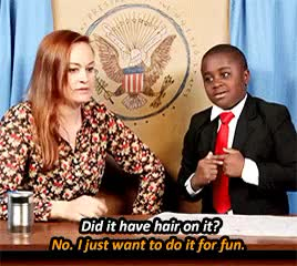 Watch and share Kid President GIFs and Mamrie Hart GIFs on Gfycat