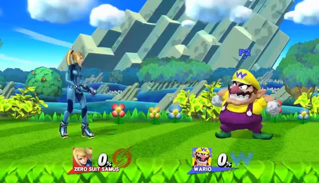 Watch and share Every Character Does Wario's Side Taunt! - Super Smash Bros. For Wii U Mods GIFs on Gfycat