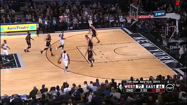 Kyle Lowry putback dunk in the ASG (reddit) GIF | Find, Make