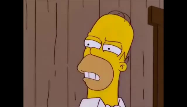 Watch and share The Simpsons - Steak Eating Contest GIFs on Gfycat