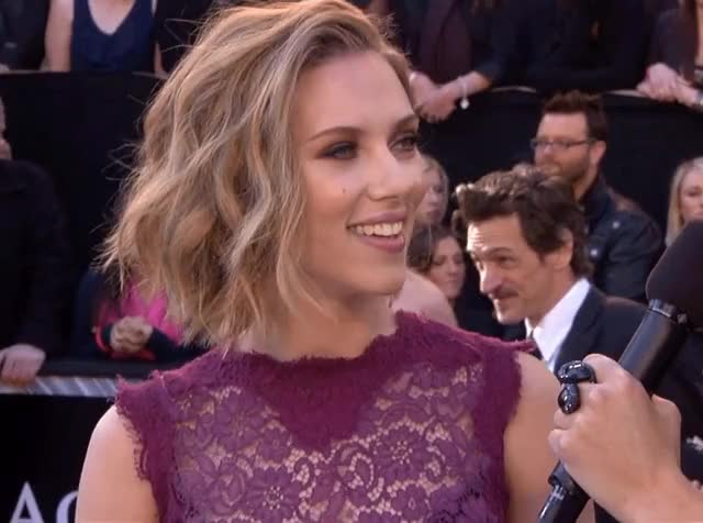 Watch and share Scarlett Johansson GIFs and Red Carpet GIFs by shapesus on Gfycat