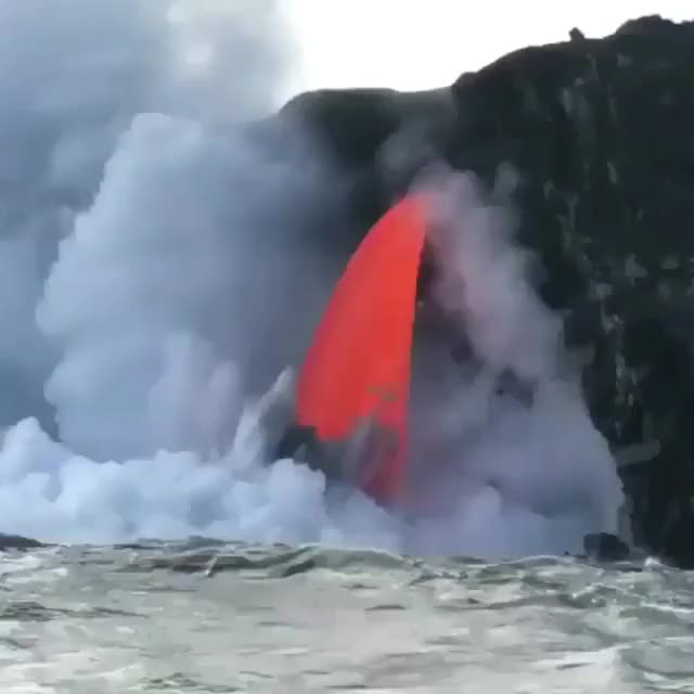 Watch and share Magma GIFs and Lava GIFs by t-h-a-t-o-n-e-8-6 on Gfycat