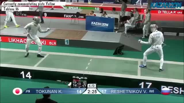 Watch and share Toukunan V Reshetnokov Counterparry GIFs on Gfycat