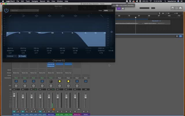Watch and share Log EQ Scale - Logic Pro GIFs by beaufosheau on Gfycat