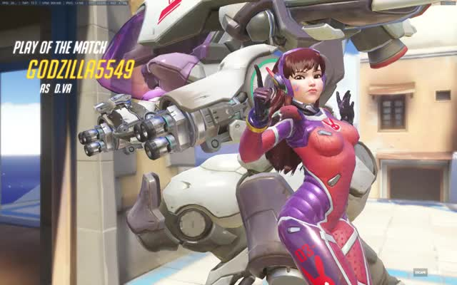 Watch and share Overwatch GIFs by godzilla5549 on Gfycat
