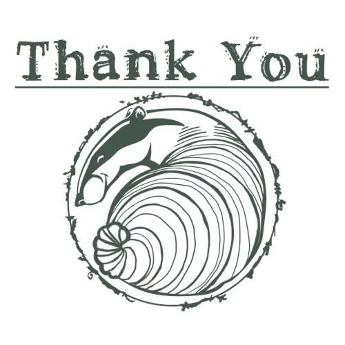 Watch Thank you! GIF on Gfycat. Discover more HenryIllustrations, badger, tail wag, thankyou, totally tubular GIFs on Gfycat