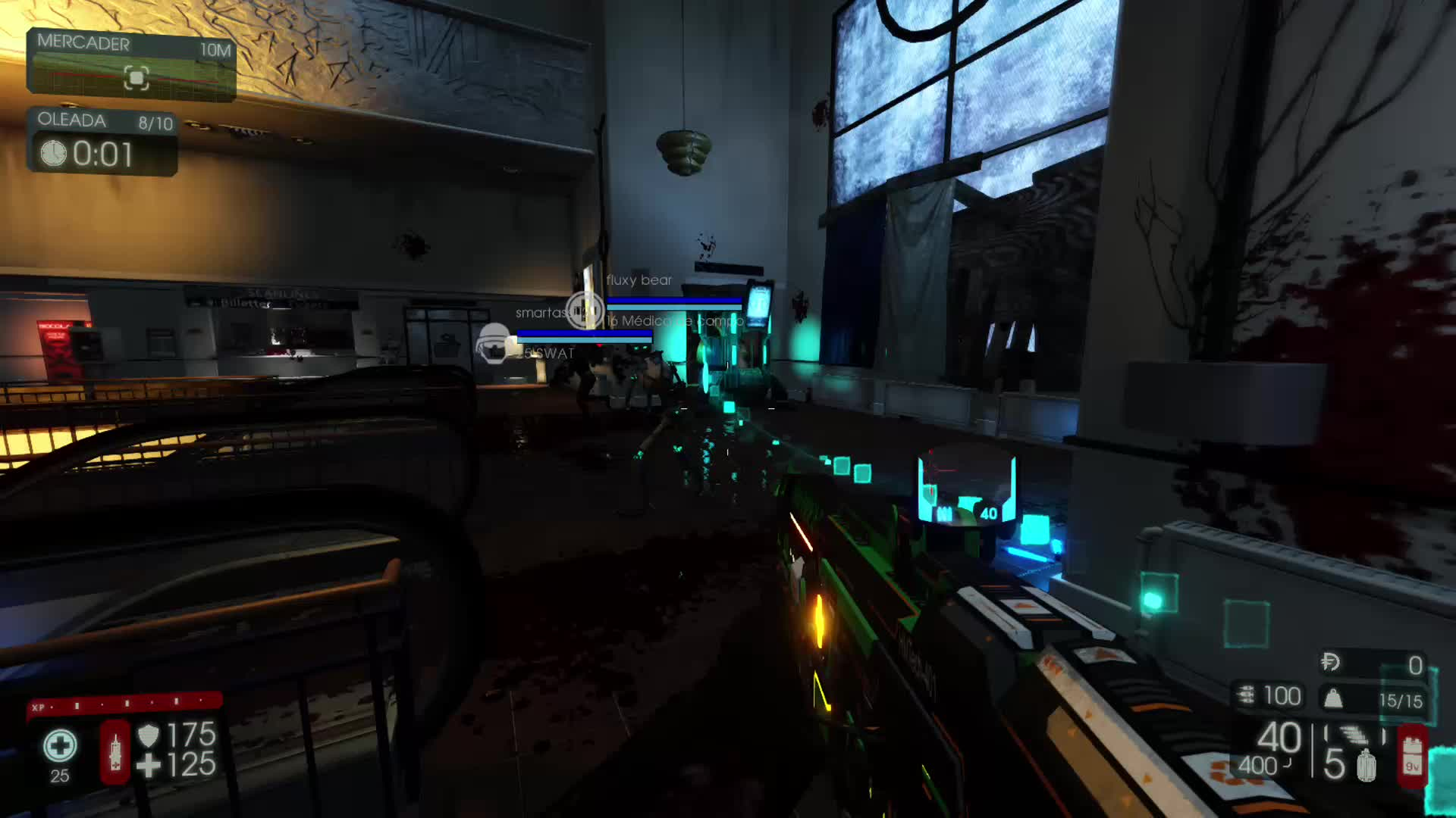 KillingFloor2, Lymphal, xbox, xbox dvr, xbox one, Medic gasses spiders GIFs